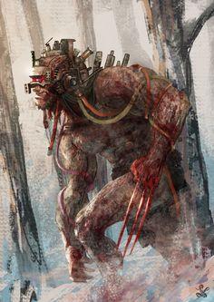 Wolverine by Saad Irfan