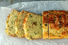 Milk and Honey: Cheese Olive and Buttermilk Herb Bread