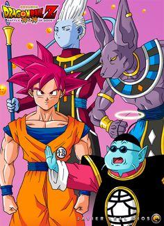 Dragon Ball Z Battle of Gods by Neokoi on DeviantArt
