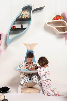 Apapchos, great kids furniture for Kids by Susana Herrera & Factoria Design