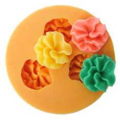 1.6cm flower F0001 Fondant Mold Silicone Sugar mini mold Craft Molds DIY Cake Decorating * Insider's special review that you can't miss. Read more :  : bakeware