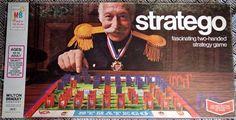 Vintage 1975 Stratego Board Game by Milton Bradley - Complete-#4916-VGC #MiltonBradley