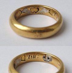 Old ring engraving 'till death