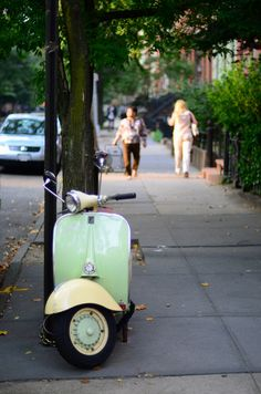 I once had a scooter like this but it broke. I would love to ride around on one of these in the summer