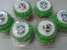 Cup Cakes Mundialistas
