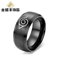 naruto, ring ring customized wholesale wholesale supply of r-025 stainless steel ring stall