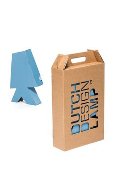 Packaging Kartonverpackung von Dutch Design Lamp My seach for the perfect bikini I am packing my bag Shirt Packaging, Cool Packaging, Beauty Packaging, Packaging Ideas, Corrugated Packaging, Cardboard Packaging, Lamp Design, Box Design, Design Tech