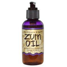 Indigo Wild, Zum Oil, Frankincense & Myrrh, 4 fl oz ( $12.15 on 8/28/2017)