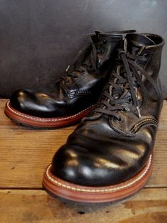 REDWING BECKMAN LEATHER SOLE + Vibram TANK HRS | BRASS BLOG