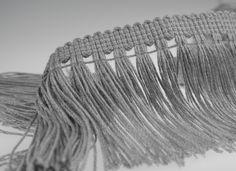 carpet fringe EF2021 in twisted viscose