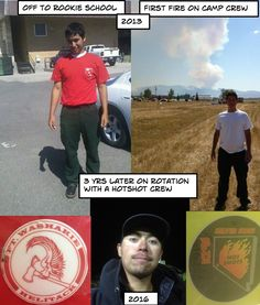 My son, Reece Willie, the wild land firefighter, from Camp Crew, Type 2 Hand Crew, Helitack Crew, Type 3 Engine Crew and rotation with a Hotshot Crew.... not to mention Incident Commander Trainee at one fire this summer.