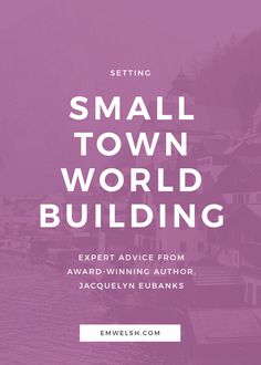 Small towns are a classic literary setting small town world building writing tips world building tips world building writing world building ideas world building country worldbuilding writing worldbuilding ideas Creative Writing Tips, Book Writing Tips, Writing Resources, Writing Help, Writing Prompts, Writing Ideas, Writing Corner, Writing Guide, Writing Goals