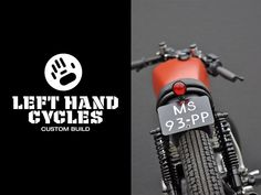 Left Hand Cycles custom Yamaha ~ Return of the Cafe Racers Yamaha Motorbikes, Yamaha Motorcycles, Vintage Motorcycles, Custom Motorcycles, Custom Bikes, Yamaha Cafe Racer, Cafe Racers, Helmet Tattoo, Sr500
