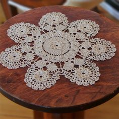 Irish Lace Crochet Doily