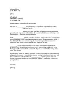 Sample Sobriety Letters Letter For A Friend Dui Frequently Asked