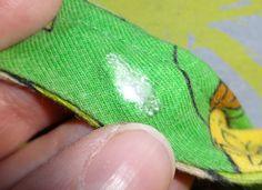 Nuckelbox: Tutorial: Herausgerissenen Snap oder Druckknopf reparieren