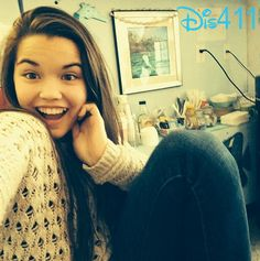"""Pics: Paris Berelc And Jake Short On The Set Of """"Mighty Med"""" December 3, 2013"""