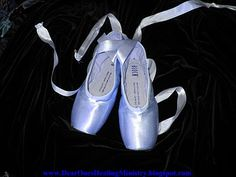 """""""Beautiful Blue Ballet Pointe Shoes"""" By Reverend Barbara Sexton"""