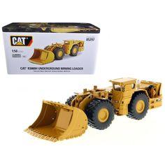 CAT Caterpillar R3000H Underground Wheel Loader with Operator High Line Series 1-50 Diecast Model by Diecast Masters