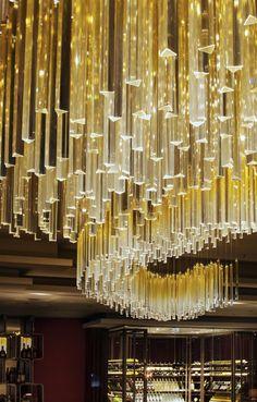 Preciosa Lighting. Hilton Hotel Bomonti. Istanbul.