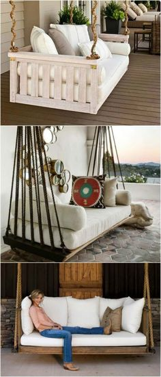 Future Future In 2019 Outdoor Beds Hanging Beds Home Decor Outdoor Beds, Outdoor Spaces, Outdoor Living, Outdoor Decor, Outdoor Swings, Porch Swings, Outdoor Hanging Bed, Outdoor Pallet, Indoor Outdoor