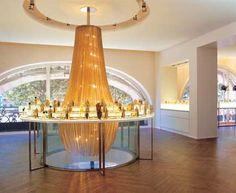 Varia by KL - KETTENVORHANG - GARDINEN AUS EDELSTAHL UND ALU - Metallgewebe für die Architektur