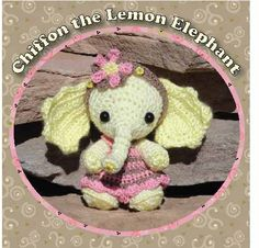 Elephant Crochet Pattern (pay $5.35)