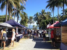 What a stunning location for a market! You'll find lots of good quality local arts, craft and food at this market in Port Douglas, Queensland, Australia. Check out some other ideas of things to do in Port Douglas on my website.