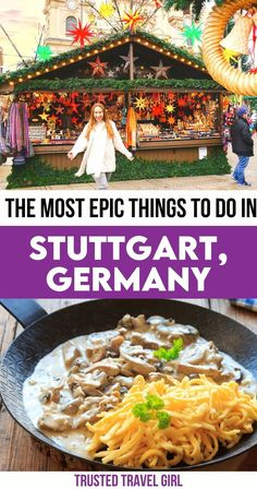 The Most Epic Things to do in Stuttgart, Germany. Want to explore the Christmas markets of the Stuttgart region? There are so many more things to do in Stuttgart, that I think it would be a fun travel destination at any time of year. These are my recommendations for the best things to do in Stuttgart. Things to do in Stuttgart Germany | Stuttgart Germany Things to do Bucket List | Stuttgart Germany Things To do Travel | Stuttgart Germany Things to do | Stuttgart Germany Travel Guide | Places In Europe, Europe Destinations, Stuttgart Germany, Countries To Visit, Europe Travel Guide, Spain And Portugal, Travel Articles, Central Europe, Germany Travel