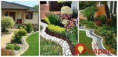Krásne mini-záhradky, alebo okrasné zákutia na vašom pozemku. Stačí, ak pomocou kameňov tieto miesta oddelíte od zvyšku záhrady a môžete vytvoriť zelené oázy, ktoré vyzerajú úžasne, sú krásne upravené a upútajú už na prvý pohľad.