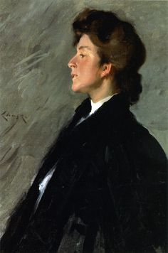 Portrait of Miss Bellemy | William Merritt Chase | oil painting
