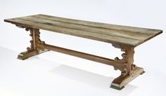 Gothic Oak Refectory Table | Rose Uniacke