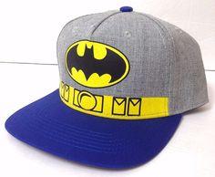 21d27521854 Batman Snapback Hip-hop New Era Trucker Flat Bill Baseball Cap Men Women Hat
