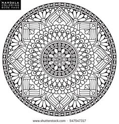 Pin by Coloring Book Zone on Mandala Coloring Books | Pinterest ...