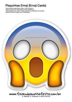 Uau! Veja o que temos para Plaquinhas-Emojis-86---Emoji-Card---Fazendo-a-Nossa-Festa