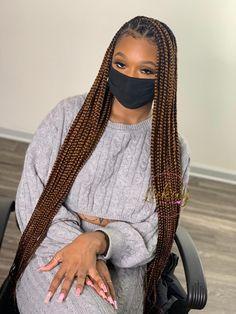Cute Box Braids Hairstyles, Lemonade Braids Hairstyles, Box Braids Hairstyles For Black Women, Twist Braid Hairstyles, Dope Hairstyles, Black Girl Braids, Braids For Black Women, Braids For Black Hair, Protective Hairstyles