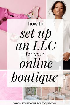 Thinking of starting your own online boutique business? You'll need to create an LLC in order to buy wholesale clothing from vendors/suppliers. SAVE THIS PIN then click through to learn how to file an LLC for your online boutique small business. Start Online Business, Starting Your Own Business, Business Planning, Business Tips, Llc Business, Craft Business, Export Business, Catering Business, Business Education