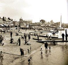 The beach, Southend-on-Sea - UK - 6 September 1948