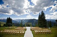 All the sudden, I decided that I want to get married in Colorado.....