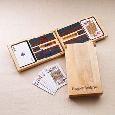 Personalized game board and box - neat idea!