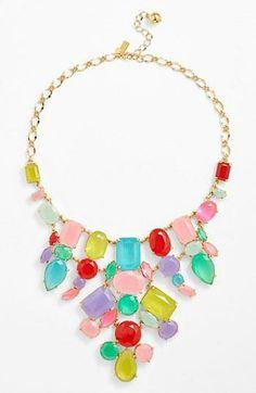 Love! Pretty Gumdrop Necklace | Kate Spade