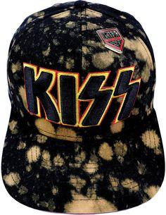 b30114e521dd6 Kiss Spray Cap Cotton Twill w  3D Embroidered Logo   Dynamic Bleach  Accents. Caps HatsBleachSnapbackBaseball ...