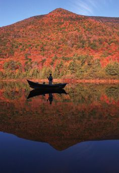 Fishing - Fall in Vermont