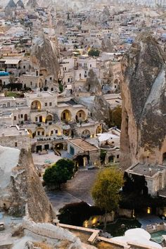 Jan 2020 - Top on my bucket list was a trip to Cappadocia Turkey Itinerary and doing hot air ballooning in Cappadocia. Find out more here. Cool Places To Visit, Places To Travel, Places To Go, Turkey Destinations, Travel Destinations, Best Weekend Trips, Cappadocia Turkey, Visit Turkey, Capadocia