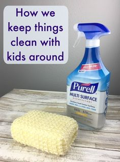 Messes I was not prepared for when I became a mom #ad #ic #PURELLSurface #DisinfectWorryFree @PURELL