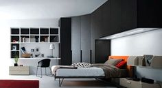 Also typical modern bedroom decorating ideas for men field by plus  - Bedroom design ideas young man
