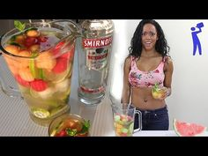 ▶ Vodka Melon Sangria - Tipsy Bartender - YouTube