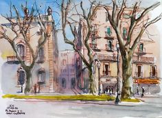 Urban Sketchers Spain. El mundo dibujo a dibujo.: barcelona