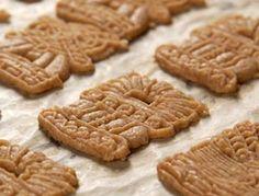 Speculaas cookies- (aka windmill cookies)