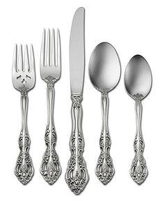 "Oneida ""Michelangelo"" 5-Piece Place Setting - Flatware & Silverware - Dining & Entertaining - Macy's"